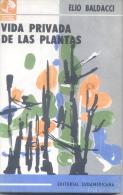 ELIO BALDACCI - VIDA PRIVADA DE LAS PLANTAS - EDITORIAL SUDAMERICANA 202 PAGINAS AÑO 1964 - Ontwikkeling