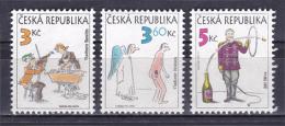 Czech Republic 1995 ( Cartoon Characters ) - MNH (**) - Czech Republic