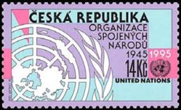 Czech Republic 1995 ( UN, 50th Anniv. ) - MNH (**) - Czech Republic