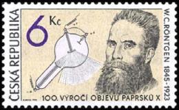 Czech Republic 1995 ( Wilhelm Ro¨ntgen - Discovery Of The X-Ray, Cent. ) - MNH (**) - Czech Republic