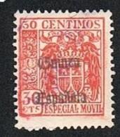 Especial Móvil 30 Cts. Guinea Usado (raro) - Ifni