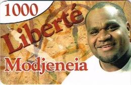 Phonecard Telecarte WALLIS ET FUTUNA Pre Payee Prepaird Liberte  Chanteur Modjeneia Ut TB - Nueva Caledonia