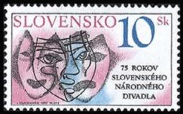 Slovakia 1995 ( Slovak Natl. Theatre, 75th Anniv. ) - MNH (**) - Slovacchia