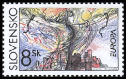 Slovakia 1995 ( Europa ) - MNH (**) - Slovacchia