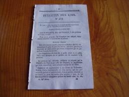 Poste: Taxe Par Paquebot En Méditerranée Traité De Paix France Haiti. Route Bourg De Péage Pont D La Bourne - Decretos & Leyes