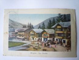 MORGINS  :  Les  CHALETS - VS Valais