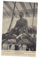 Le Capitaine Dickson Avion Biplan Farman Grande Semaine De L´aviation De Rouen 1910 Cpa 76 Seine Maritime Normandie - Aviatori