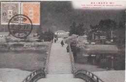 The Kintai Bridge   *belle Carte*  Non écrite. (1917) - Japon