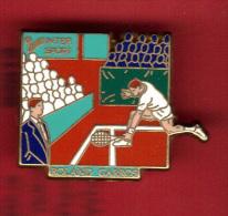 29181-Pin´s Tennis.Roland Garros.Inter Sports..signé Arthus Bertrand Paris - Arthus Bertrand