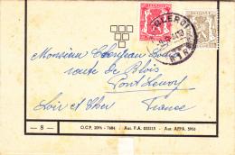 Charleroi R1R 1944 - Lettre Cover Brief - Belgium
