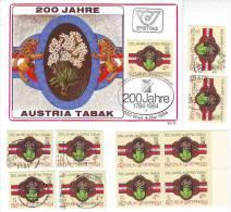1033z5: Österreich 1984, Austria Tabak, Tabakpflanze, Maximumkarte Plus **/o Ausgaben - Tabak
