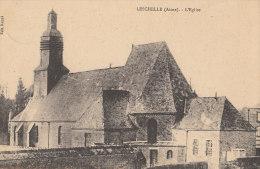 02 LESCHELLE  Coin Du VILLAGE  EGLISE En 1911 - Francia