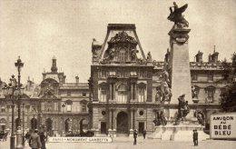 75 Paris Monument Gambetta Publicité Amidon Au Bébé Bleu Animée - Other Monuments