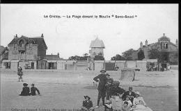 Moulin Et Châlets Sur La Plage - Le Crotoy