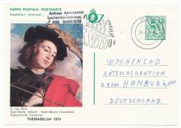 BELGIUM BELGIË BELGIQUE POSTAL STATIONERY POSTAL CARD THEMABELGA 1975 (1977) - Ganzsachen