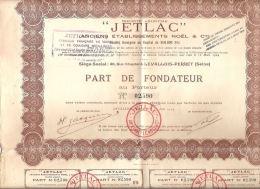 JetLac 36 Rue Chaptal Levallois Perret 92 Hauts De Seine  Noel Et Cie Vernis Couleurs Metalliques - Industrie