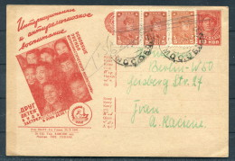 1931 Russia Uprated Postal Stationery Ganzsache Propaganda Children - Berlin Germany - 1923-1991 USSR