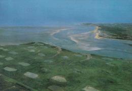 Carte Postale 80. La Baie D'Authie Vue D´avion Trés Beau Plan - France