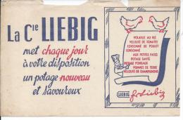 BUVARD - La Compagnie LIEBIG - Potages & Sauces