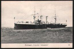 Portugal Ca. 1910 Postcard Cruzador ´Adamastor´ - Sonstige