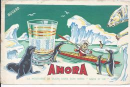 BUVARD - MOUTARDE DE DIJON AMORA - Mostard