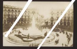 ROMA - INIZI 900 - PIAZZA DELLA REPUBBLICA E  FONTANA DELLE NAIADI(INAUGURAZIONE) GREMITA DI  FOLLA - Places & Squares