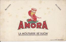 BUVARD - MOUTARDE DE DIJON AMORA - Moutardes