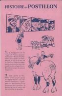 BUVARD - HISTOIRE DU POSTILLON - Buvards, Protège-cahiers Illustrés