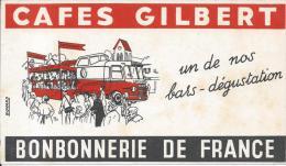 BUVARD - CAFES GILBERT - Café & Thé