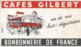 BUVARD - CAFES GILBERT - Coffee & Tea