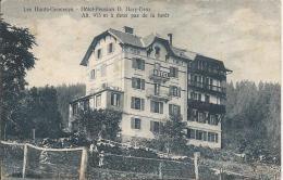 Les Hauts Geneveys Hôtel Pension D. Hary-Droz - NE Neuchâtel