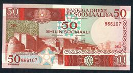 SOMALIA    P34b   50  SHILLINGS    1987    UNC. - Somalia
