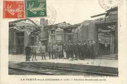 Juin13 1502 : La Ferté-sous-Jouarre  -  Station Bombardement - La Ferte Sous Jouarre