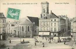 Juin13 1509 : La Ferté-sous-Jouarre  -  Place De L'Eglise - La Ferte Sous Jouarre
