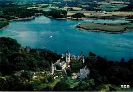 Dép 29 - De Pont Aven à Port Manech - Sur Les Rives Boisées De L´Aven - Le Château Du Hénan En Névez - Bon état - Névez