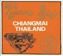 Etiquette De Bagage - RINCOME HOTEL - CHIANGMAI (THAÏLANDE) - Hotel Labels