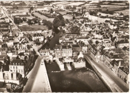 LANDERNEAU Vieux Pont - Vue Aérienne - Avant 1955 - COMBIER 30581 - Landerneau