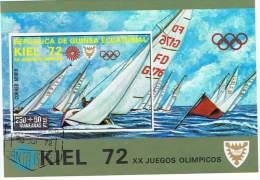 SPD-L28 - GUINEE EQUATORIALE Lot De 11 Bloc Diff. Jeux Olympiques De Munich - Guinée Equatoriale