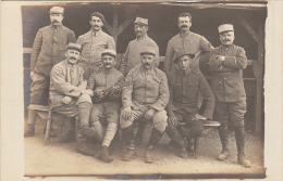 CARTE PHOTO MILITAIRE  87 SUR LE COL     /////  REF 424 - Guerre 1914-18