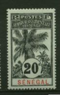 Senegal Palmiers Faidherbes Ballay  N° 36  Neuf  *  Cote Y & T  11,50 Euro Au Quart De Cote