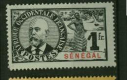 Senegal Palmiers Faidherbes Ballay  N° 44  Neuf  **  Cote Y & T  60,00 Euro Au Quart De Cote