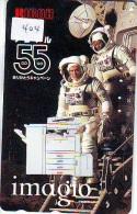 Télécarte Japon ESPACE * Phonecard JAPAN * SPACE SHUTTLE (404) * Rocket * LAUNCHING * SPACE WORLD * Rakete * - Ruimtevaart