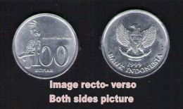Pièce De Monnaie Coin Moeda 100 Rupiah Kakaktua Raja Indonesia Indonésie 1999 - Emirats Arabes Unis