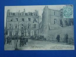 Cpa Montmartre Journée Du 18 Mars 1871. 1907. - Other
