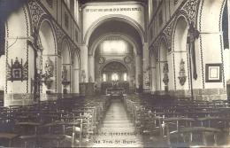 SINT-BAAFS-VIJVE - VYVE ST BAEFS - Romaanse Monumentale Kerk - Binnenzicht -  Fotokaart - Wielsbeke