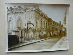 Casino D´ENGHIEN Réouverture Des Casinos En 1938, Photo D´agence 18 X 24, Avec Légende ; Ref 090 - Photos