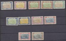 Montenegro 1896 Cloître De Cetinjé  1n Au 2f  ( Sauf 10n Et 20n) * MVLH - Montenegro