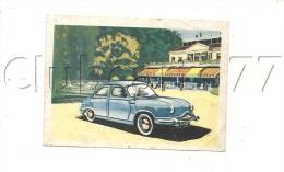 Voiture (Transport) : GP D'une Panhard   Chromo De Cibon  En 1950 (animé) - Publicité