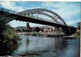 42----LANGEAC----l´allier Et Le Pont Alexandre-bertrand--voir 2 Scans - Langeac
