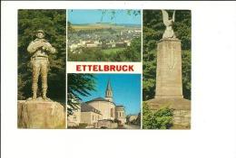 Ettelbruck Statue Patton Panorama - Ettelbruck